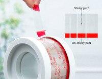 Coffee Cups Seal Cup Lid Easy Tearing Paste Tea Juice Takeaway Packaging Sealing Tape Packing Sticky