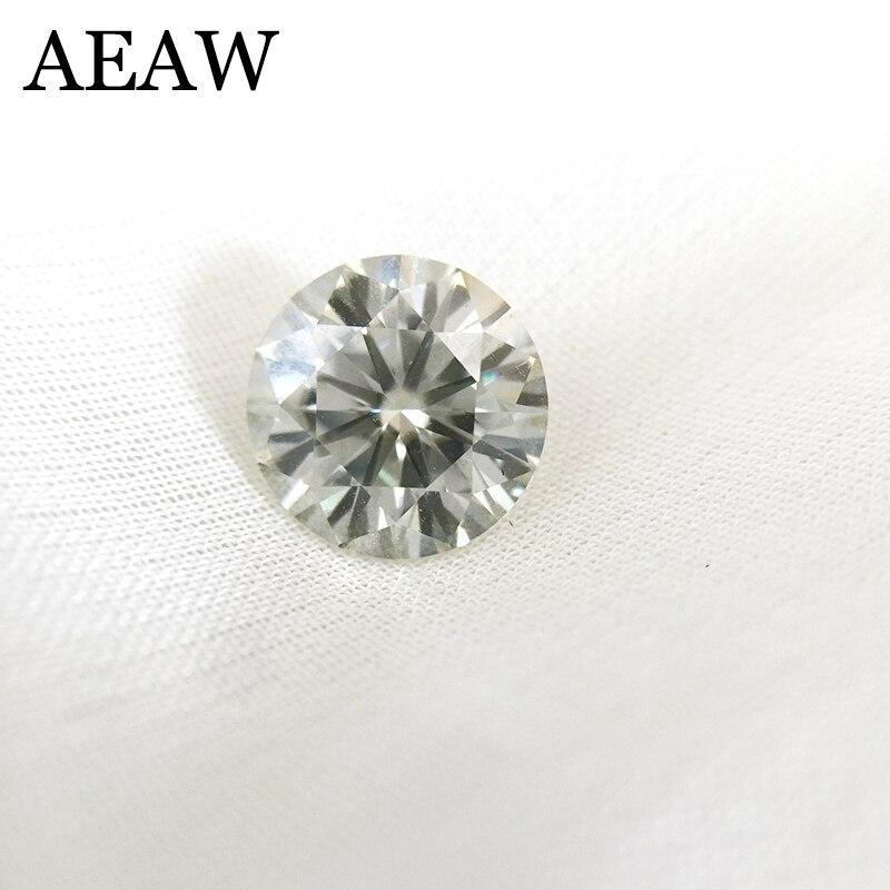 Rodada Brilhante Corte 3 9mm G Cor ct Moissanite Moissanite Pedra Solta VVS1 Excelente Corte Grau Test Lab Positiva diamante
