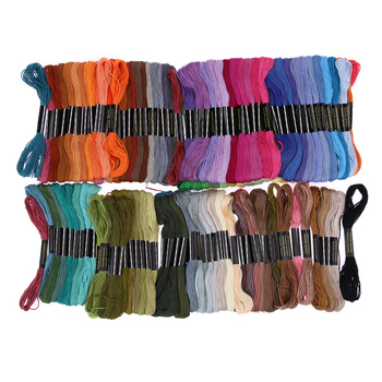 150pc Different Colors Embroidery Thread Handmade Cross Stitch