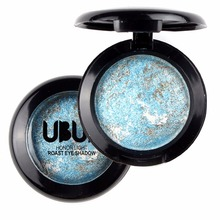 Single Baked Eye Shadow Powder Palette in Shimmer Metallic Eyeshadow Palette