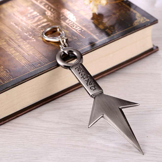 Naruto Weapon Model Sword Alloy Key Chain
