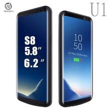 Newdery U1 CN корабль для Samsung Galaxy S8 S8 плюс Батарея случае Перезаряжаемые Запасные Аккумуляторы для телефонов Резервное копирование Внешняя Батарея Зарядное устройство Чехол