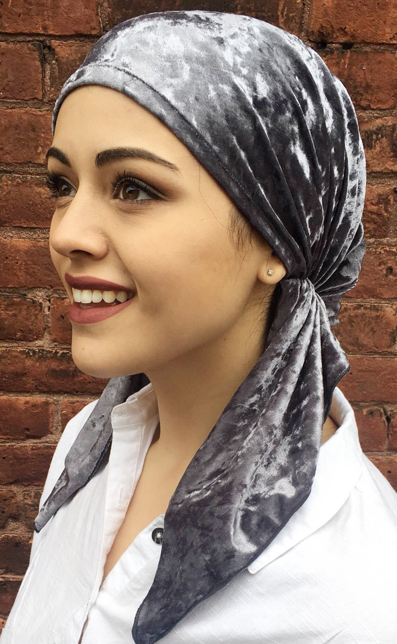 New fashion women velvet Pre Tied Fitted Turban Head Scarves   Headwear   Chemo Hat Muslim Bandanas Jersey Hijab Turbante