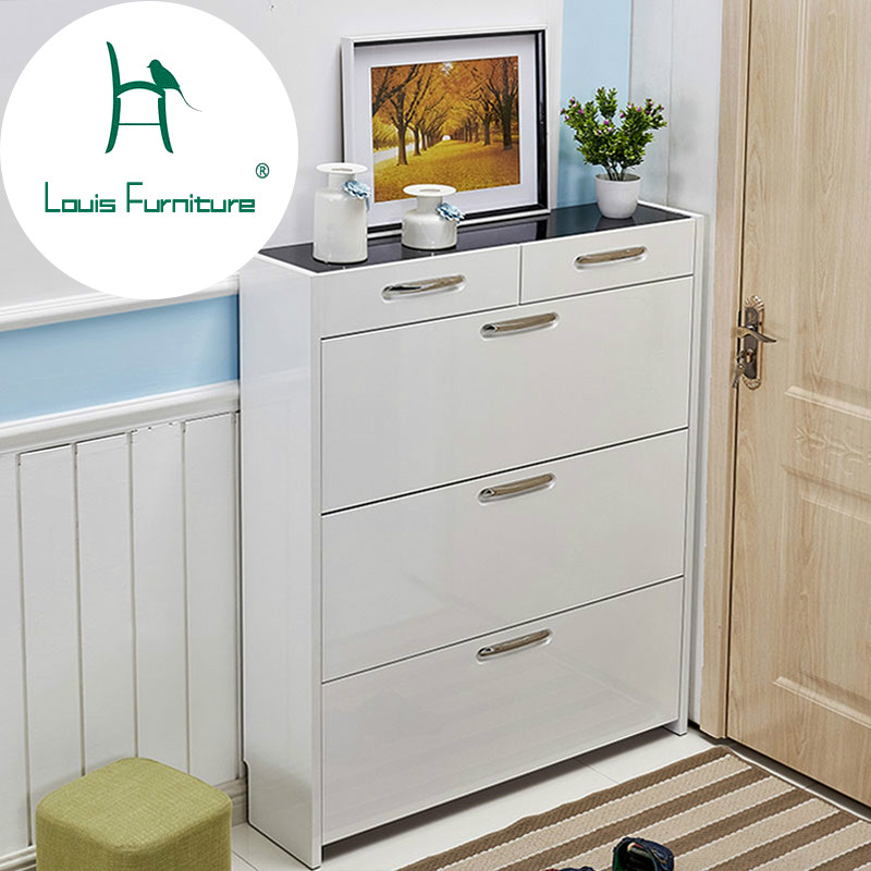 Louis Fashion 17cm Hall Cabinet With Large Capacity And Easy To Assemble  The Living Room Shoe Cabinetin Cabinets From Furniture On Aliexpresscom  Easy Assemble Dresser O7