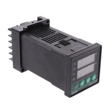 цена на PID Digital Temperature Controller REX-C100 0 To 400degree K Type Input SSR Output Thermostat Temperature Controller