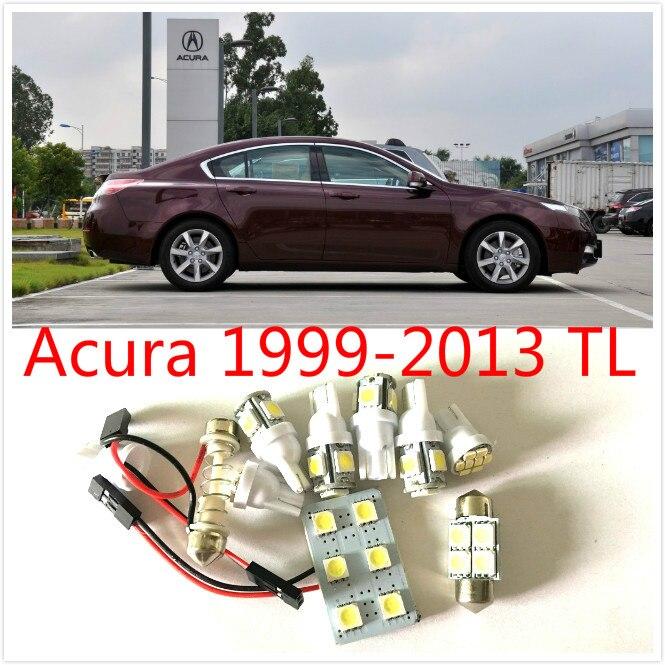 8PCS White LED Lights Interior Package Kit For Acura 1999