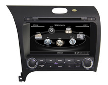 ZESTECH High performance double din Car Dvd player for KIA K3 2013 Car Dvd player with radio, tv, gps navigation+factory