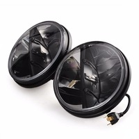 2pcs New Replacement 30w 7inch Headlight Led With High Low Beam H4 And H13 Connector For