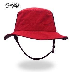 Image 2 - Outflyใหม่สไตล์ถังหมวกหมวกชาวประมงครีมกันแดดแคมเปญเหมาะสำหรับกิจกรรมกลางแจ้งผู้ชายและผู้หญิง