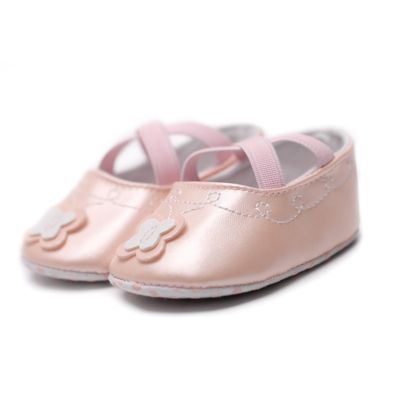 Baby Shoes First Walkers Qualified 2018 Spring Autumn Girls Princess Toddler Shoes First Walkers Lovely Flower Shoes Rich And Magnificent