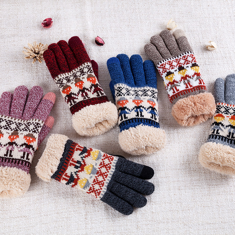 United Fashion Women Men Soft Solid Half Finger Gloves Winter Warmer Knitted Cotton Mittens Fingerless Black Gray Beige Gants Femme Back To Search Resultsapparel Accessories