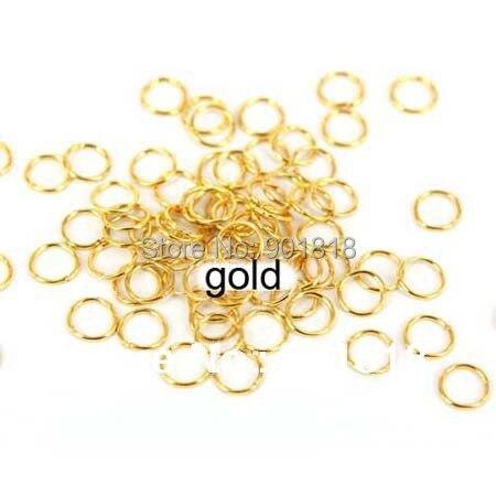 4 мм 200 шт./пакет оптовая бронза/белый/серебро/золото/родия