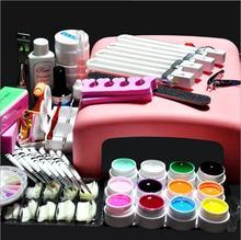 NAIL ART BASE TOOL 36W UV Lamp & UV Gel nail base gel top coat gel polish kit nail Manicure tools