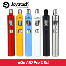 Original Joyetech eGo AIO Pro C e-Cig Kit with 4ml Tank All-in-One Airflow Control Starter Kit Without 18650 battery AIO pro C
