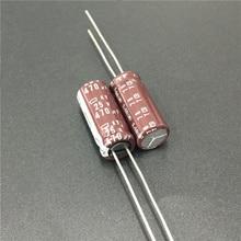 10pcs 470uF 25V NIPPON NCC KY Series 8x20mm Low impedance ESR Long Life 25V470uF Aluminum Electrolytic Capacitor