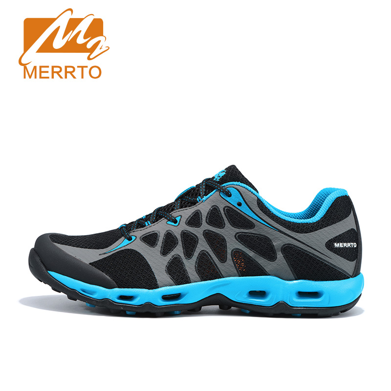 MERRTO 2018 Men Running Shoes Brand Men Women Sneakers Outdoor Breathables Mesh Sports Shoes Men Cushioning Running Shoes Male