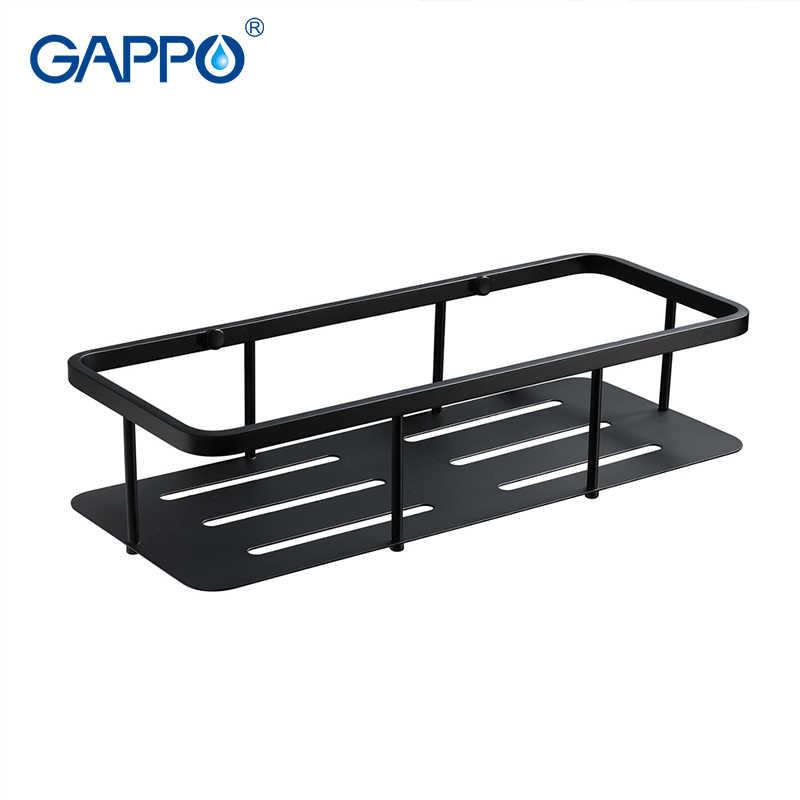 GAPPO Bathroom Shelve towel shelf towel bar shower basket bathroom holder baskets Bath Hardware Set