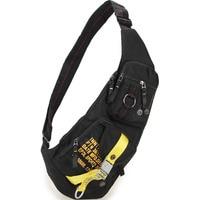 Men Drable Nylon Messenger Shoulder Bag Tactical Military Assault Fishing Molle Travel Hiking Climb Sling Daypack