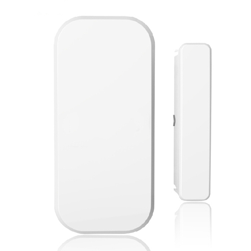Intelligent Wireless Door Gap Window Sensor Detector 433MHz  For 8218G G15 X1 Alarm System wireless vibration break breakage glass sensor detector 433mhz for alarm system