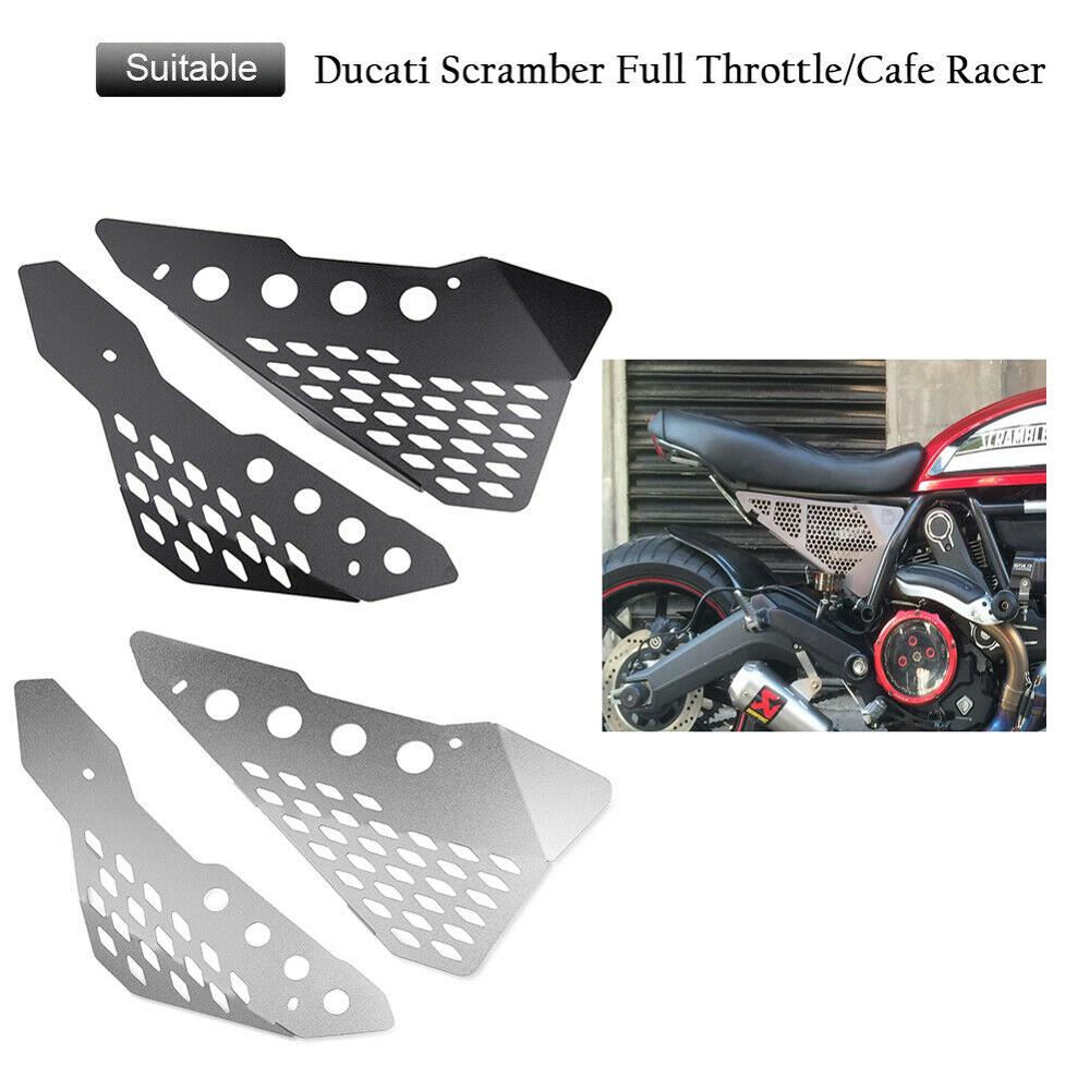 Side Frame Cover Panel Protector For Ducati Scrambler 800 400cc Street Classic Icon Sixty Desert Sled