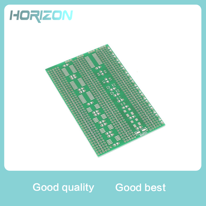 7x11cm Single Side SMD Prototype Universal PCB Plate Experiment Circuit Board 2.54mm Pin Space Electronic Components