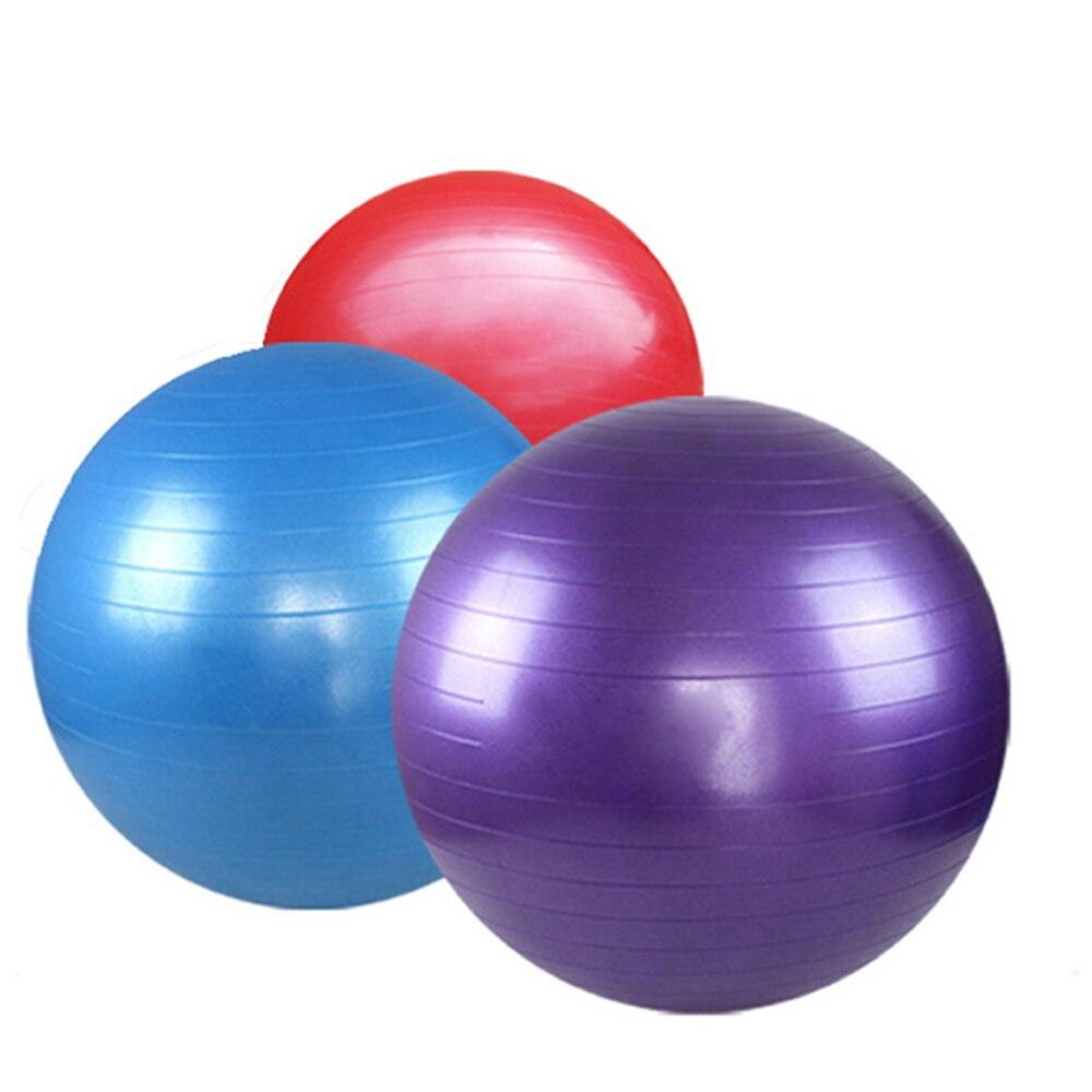 75 cm Yoga Egzersiz Topu Denge Esneklik Gücü Eğitim Ekipmanları Fitness Topu Spor Topu