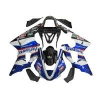 Free custom fairing kit for YAMAHA R1 2002 2003 blue white R1 fairing kit 02 03 fairingsKT79
