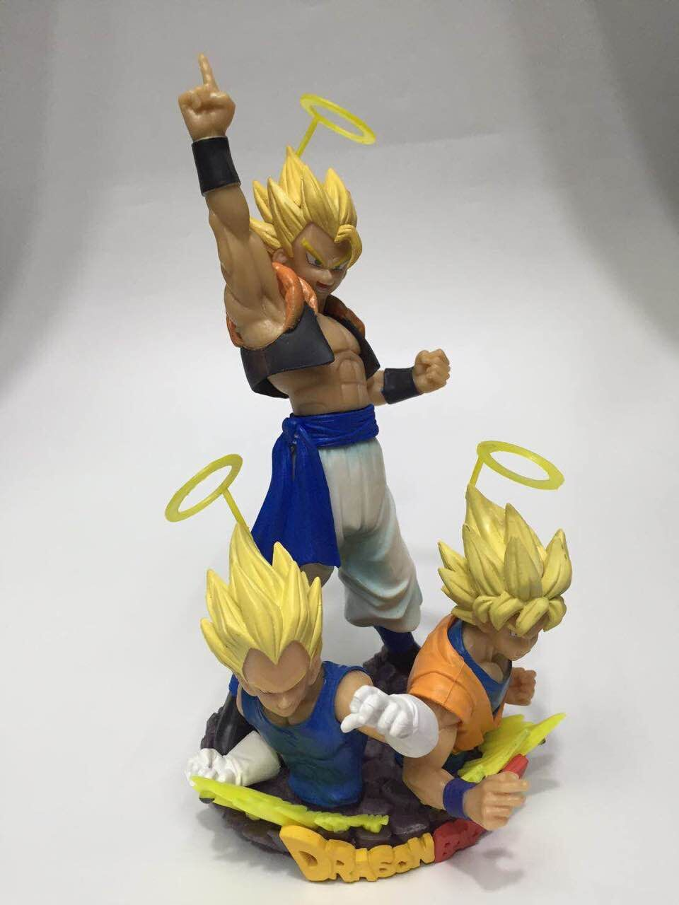 Dragon Ball Z Action Figure Vegeta Goku Gogeta Bust PVC Figure Toy 150mm Dragon Ball Dragon Ball Super Gogeta Model