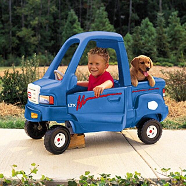 Qisehua Little Tikes Walk Car Travel Toy Truck
