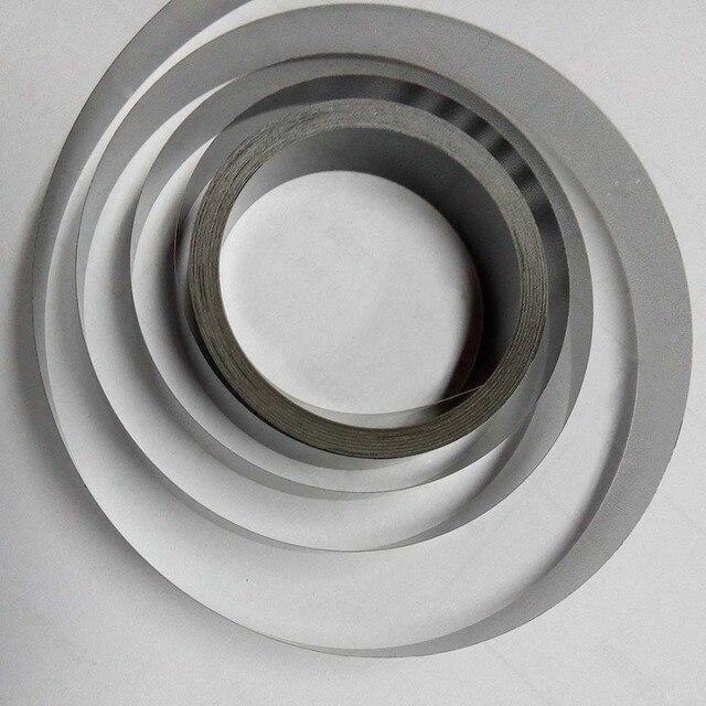 Adhesive encoder strip aluminum