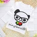 2-5 anos de idade do bebê da menina do menino camisa de manga longa T 6 escolha de animais baratos e confortáveis do bebê camisa do bebê pano menina do verão BC3415