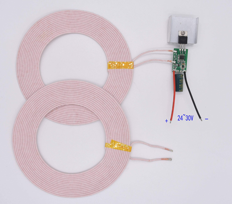 Module de lampe d'alimentation sans fil 24 V 70 W Module de charge sans fil Module de Transmission sans fil XKT801-30