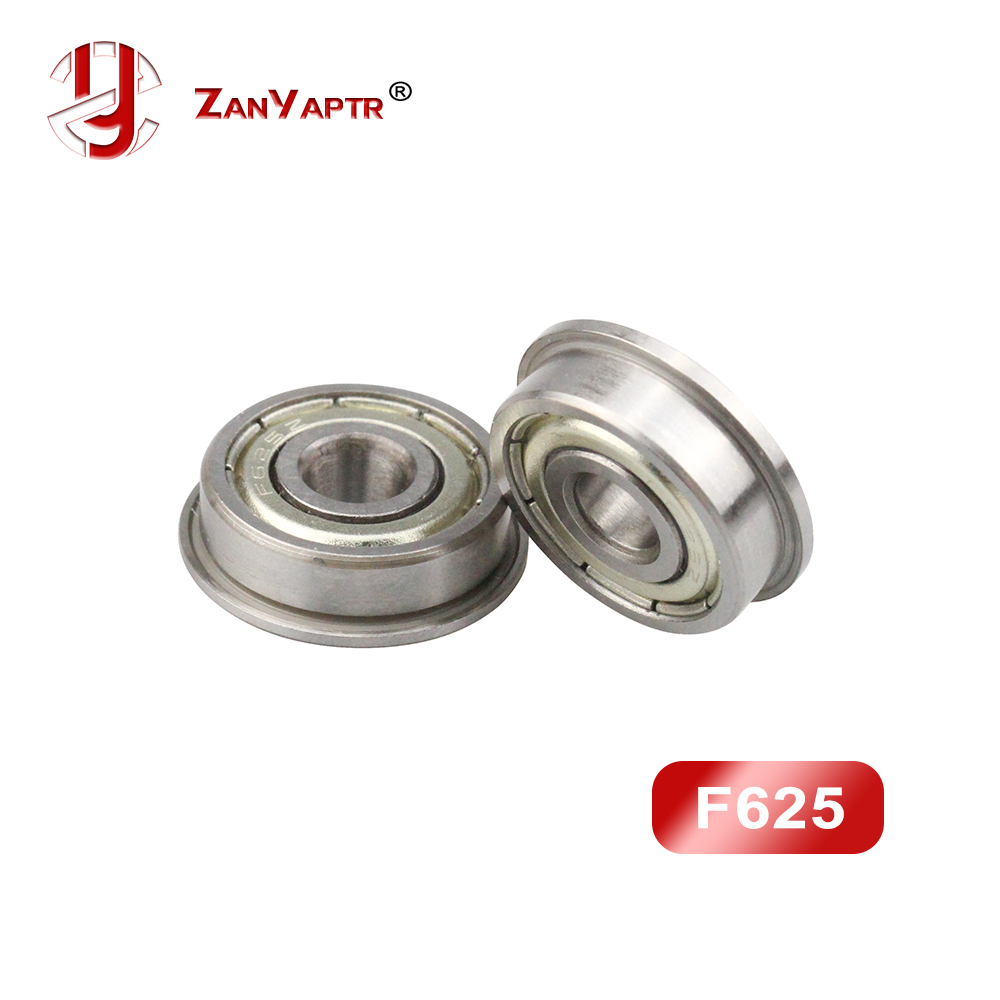 5x 625 ZZ Metal Sealed Deep Groove Ball Bearings 5x16x5 mm