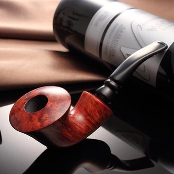 2019 New High-grade Briar Tobacco pipe Smoking pipes elegant