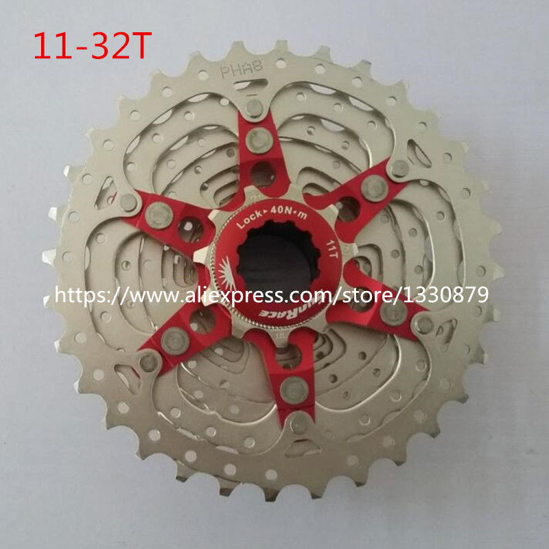 Sunrace 11 Speed Road Bicycle Freewheel Bike Cassette CSRX1 cycling flywheel Bicycle Parts 11-32T road bike chain ring bicycle flywheel cassette tool parts 11speed 105 ultegra dura ace for 1x and 2x drivetrain systems