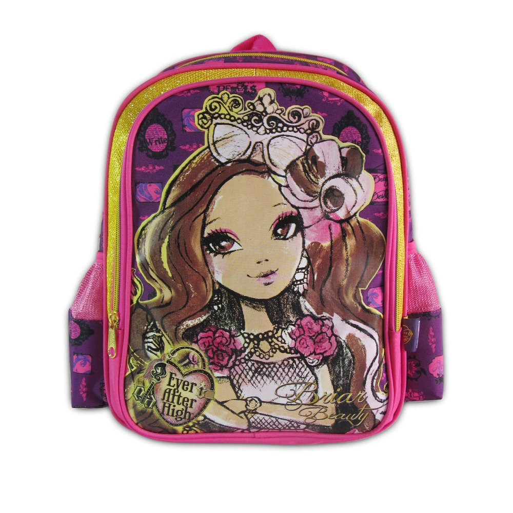 com buy ever after high girl backpack children com buy 23031 ever after high girl backpack children school bag primary school mochila infantil kids book bag high quality euro standard from