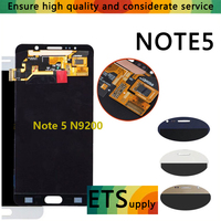 100 Tested LCD Display Touch Screen Digitizer Dead Pixel Compatible For Samsung Galaxy Note 5 N920