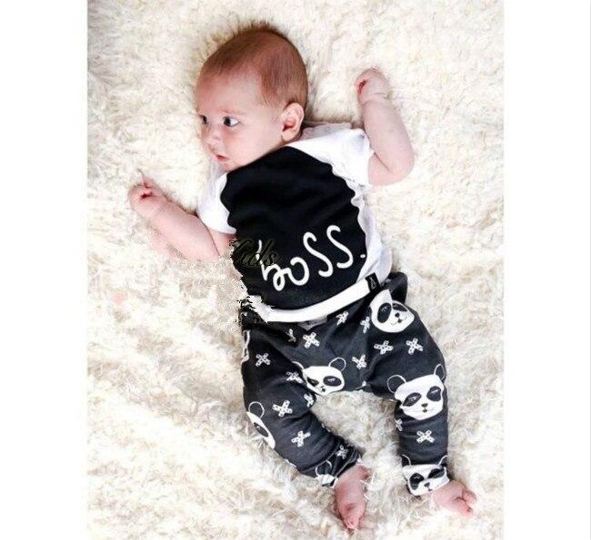 2017 new baby boy clothes font b cool b font panda short sleeve girl baby rompers online buy grosir keren bayi kostum from china keren bayi kostum,Pakaian Bayi Keren