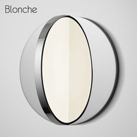 Nordic Iron Led Wall Lamp Modern Acrylic Wall Light for Home Mirror Bathroom Light Indoor Industrial Bedroom Bedside Sconce Lamp