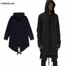 CHENXUAN  Hoodies Men/women Hooded Cloak Plus Long Shawl Double Coat-Coat Assassins Creed Jacket Streetwear Oversize