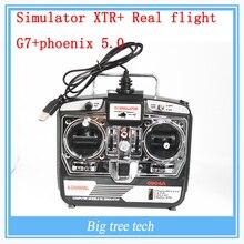 Хм бпла симулятор феникс 5.0 6 ось самолета дистанционного управления G7 G6.5 один ключ 22 реального полета G7 + феникс 5.0