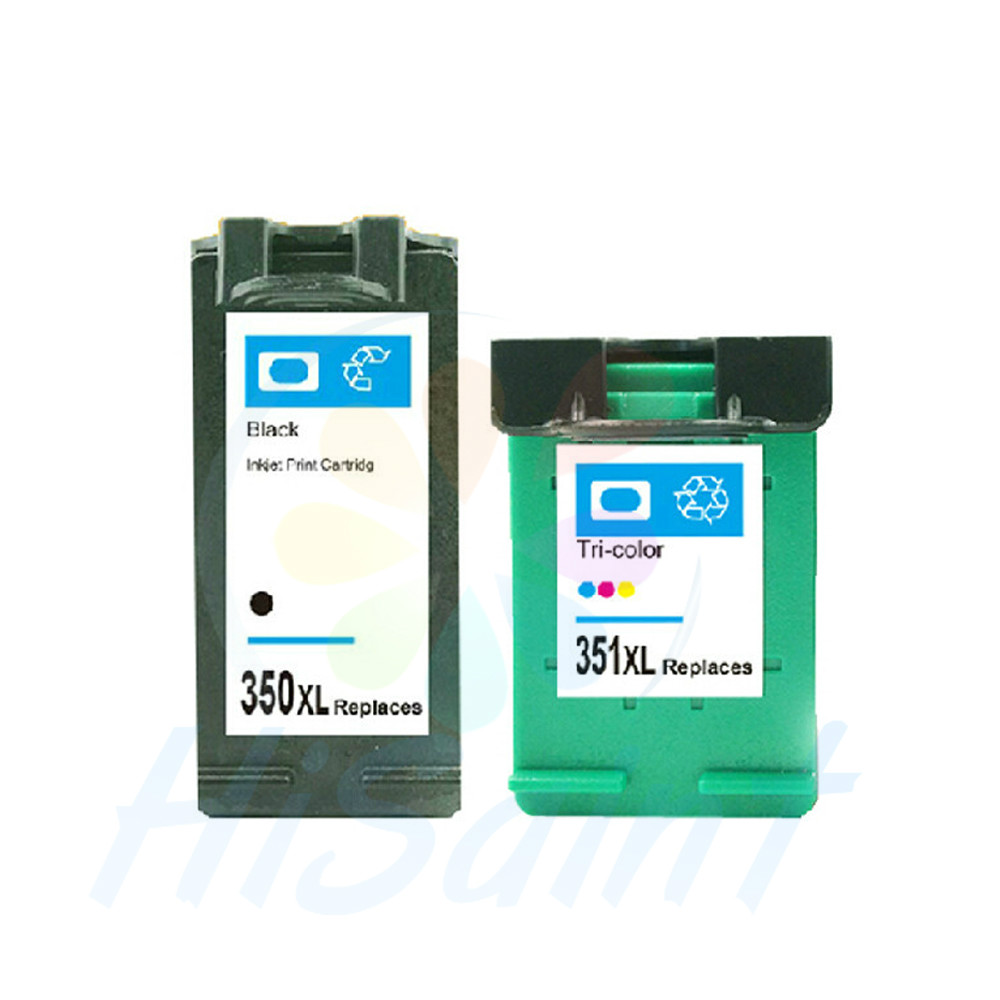 hisaint for <font><b>HP</b></font> 350 black , for <font><b>HP</b></font> <font><b>351</b></font> color ink cartridges for <font><b>HP</b></font> DJ D4260/C4280/D4360/J6480/C5280/J5780 Printer At a loss image