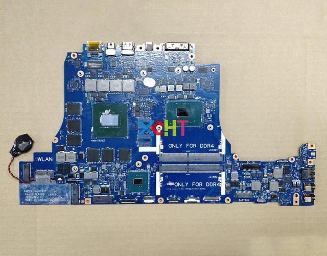 Материнская плата для ноутбука Dell Alienware 17 R4 JHRTF 0JHRTF, протестированная материнская плата для ноутбука BAP10, с процессором BAP10 и процессором GTX1060 и процессором на 6 ГБ, с процессором BAP10, CN 0JHRTF, для ноутбука