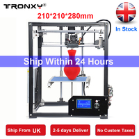 Tronxy Upgraded Quality 3D Printer High Precision Large Printing Reprap 3D Printer DIY Kit Extruder Free