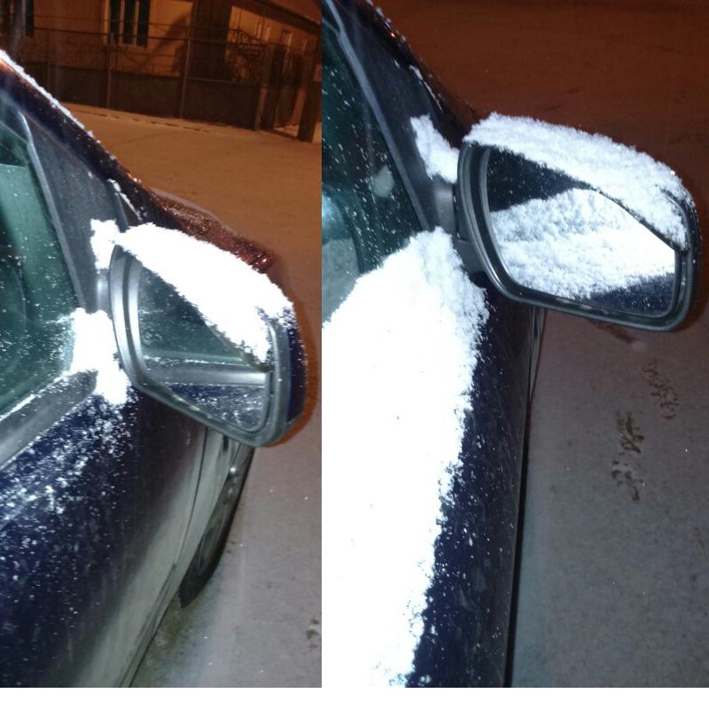 Car Rearview Mirror Rain Blades car back mirror eyebrow rain cover for ford focus 2 3 Hyundai solaris Mazda 2 3 6 CX-5 2Pcs1