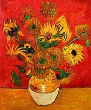 Sunflowers by Vincent Van Gogh Handpainted