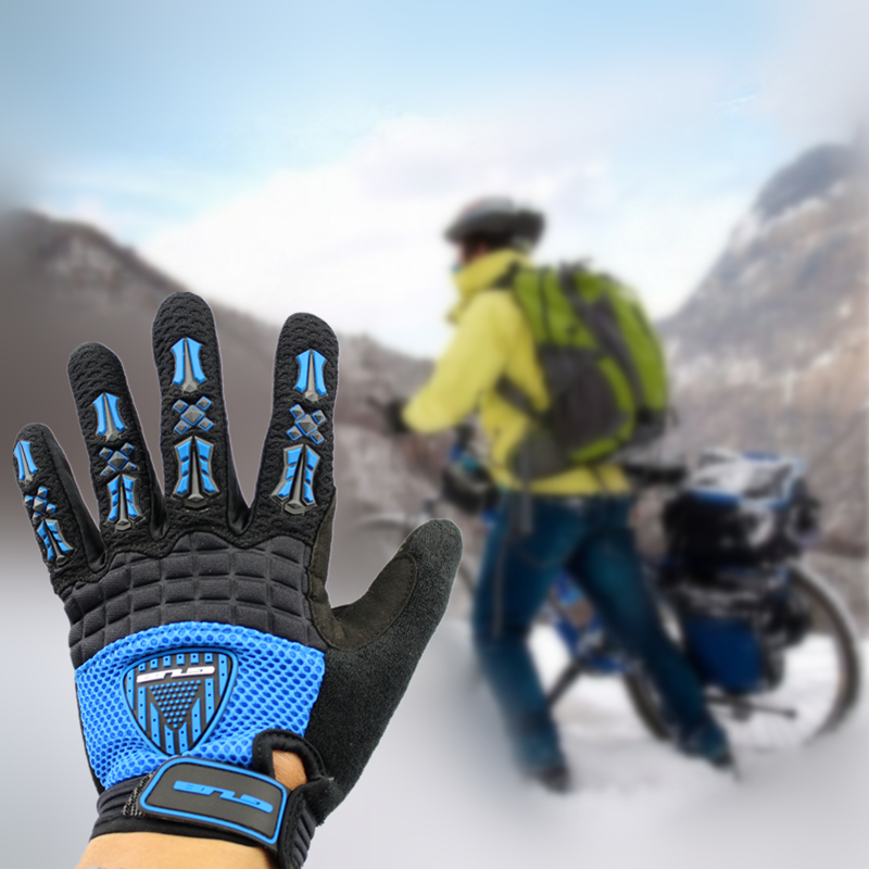 GUB FS2022 Cycling road Bicycle MTB long finger Gloves for riding racing outdoors sports breathable shockproof antumn winter