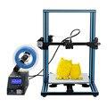 CR-10 3D принтер DIY Kit Большой размер печати 300*300*400 мм 1,75 мм Reprap i3 с горячей кровать + 8 г sd-карта 200 г нити Creality 3D
