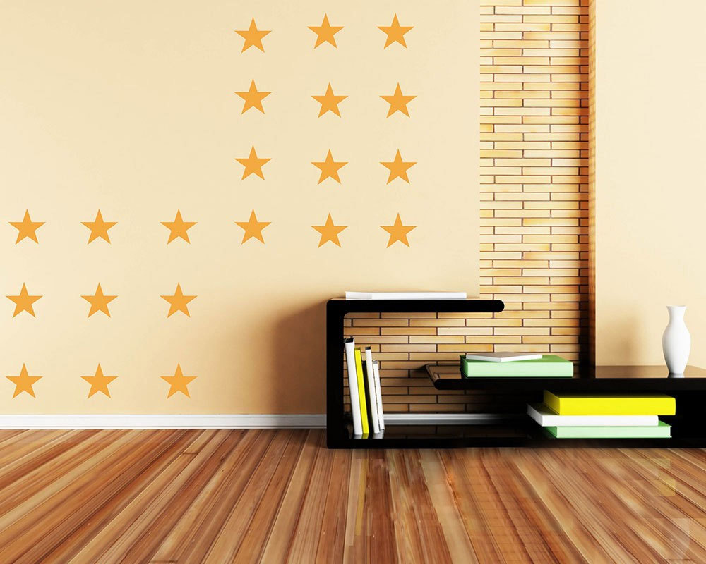 Aliexpress.com : Buy Stars wall stickers living bedroom room ...