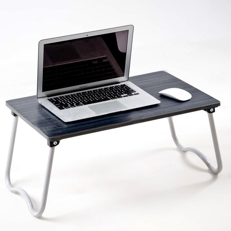 Simple folding desk laptop desk modern sidebed table top